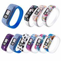 Silikon Armband Uhrenarmband Ersatzband Für Garmin Vivofit 3 JR JR2 Uhr Tracker