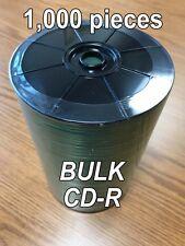 1000 pcs    BULK CD-R Blank Disc Media White Not INKJET compatible