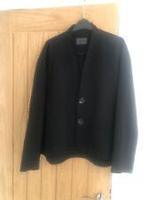 OSKA Black Classic Modern Lagenlook Jacket Size 3 UK 14/16