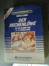 """Commodore C 64  - Steck-  Modul - 80 er Jahre """"Der Rechenlöwe"""""""