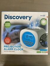 Discovery Kids Digital Alarm Clock Nature Sound Machine Glowing Star Projections