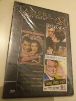 Dvd  CHARADA CON CARY GRANT Y AUDREY HEPBURN y dos pelis + ( precintado nuevo )