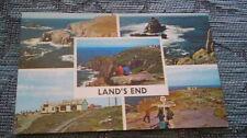 Land's End  Vintage Postcard (unused)