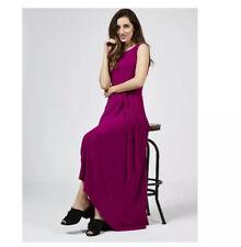 Phase Eight Hi Low Hem Wisteria Maxi Dress Violet New Size 8 Rrp £79