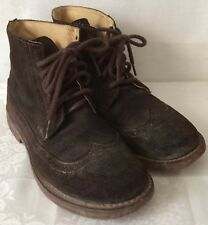 Bed Stu Women's Brown Suede Ankle Boots Size 7