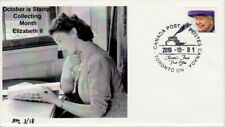 October Stamp Collecting Month Queen Elizabeth II cover numbered 3 of 18