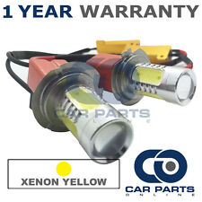 2X CANBUS YELLOW H7 CREE LED MAIN BEAM BULBS FOR VAUXHALL ASTRA SIGNUM ZAFIRA