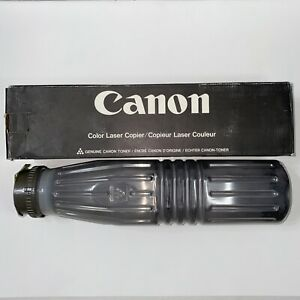 Geniune OEM Canon Color Laser Copier Toner 600g Refill Powder (Black) | NEW