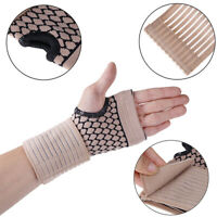 Professional elastic sports carpal tunnel tennis wrist bandage brace support WCP