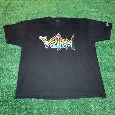 Illest Voltron Shirt Graphic Logo Spellout Black Size XXL