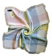 THREE WEAVERS Brand New w Tags Vintage Handwoven Baby Blanket Virgin Orlon GIFT