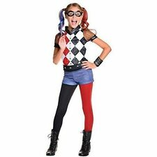 Rubie's Official DC Super Hero Girls Deluxe Harley Quinn Costume Size Large