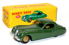 Modellauto Jaguar XK 120 Coupé grün Dinky Toys ca.1:43 aus Metall von DeAgostini