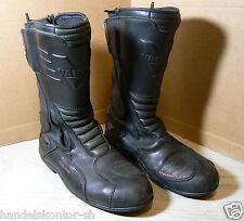 Vanucci VTB1 Motorrad Stiefel Boots 43 Echtleder Sympatex Tourenstiefel Defekt