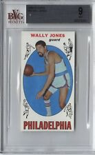 1969-70 Topps #54 WALLY JONES Rookie RC *76ers* BVG 9