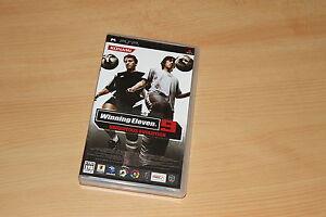 Winning Eleven 9 Ubiquitous Evolution PSP PES pro evolution soccer import JAP