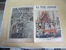 Le petit journal 1898 n° 390 guerre hispano-américaine reine cortès key-west