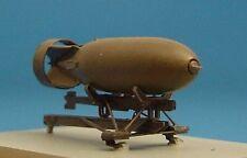 Brengun 1/48 British 500lb Bomb with Bomb Rack # 48003