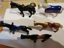 Playmobil - 5 Horses with Saddle (blanket) NEW TYPE-C137774