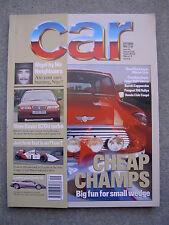 Car (Sept 1994) Diablo, BMW M3, McLaren MP4/9, 911 Carrera, Mazda 323, Saab 900