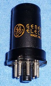 1 NOS GE 6SC7 VT-105 Vacuum Tube for Fender Amps and Hallicrafters Radios