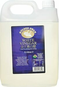 White Vinegar Cleaning Stain Pickle Kitchen Food Cooking Long Shelf 5L X 4 Pack