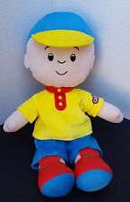 "Large Caillou Plush Doll Pbs Kpbs Kids Cartoon Figure Pillow Buddy 15"" Rare"