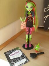Monster High doll Venus McFlytrap-Original-V bon état + Original Extras