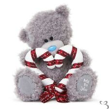 Me To You peluche ourson 20 cm assis *-* SUCRE CANDY *-* coeur en ruban et tissu