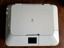 Used CANON PIXMA MG7120 Wireless All-In-1 Color Inkjet Photo Printer -White