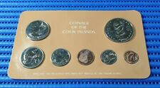 1981 Coinage of the Cook Islands ( 1, 2, 5, 10, 20, 50 Cents & $1 Coin )
