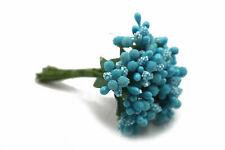 Mini Gypsophila Babies Breath Flowers Wedding Bunch Decoration BLUE