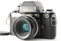 【Exc+5】 NIKON F2 Photomic DP-1 SLR Black Film Camera w/ 50mm AI LENS from JAPAN