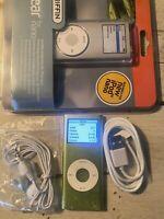 Apple iPod Nano 2nd Generation 4GB USED BUNDLE