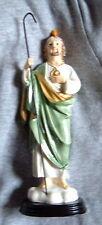 ST SAINT JUDE 8 in Statue NIB Catholic Patron of Impossible Porcelain