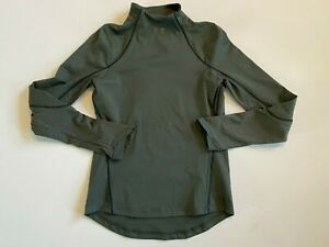 Under Armour New Rush Coldgear Jacquard Shirt Women's Small 1356357