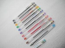 10 Colors Set Pilot Hi-Tec-C 0.25mm HYPER FINE Roller ball Pen with cap(Japan)