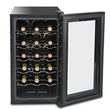 Freestanding Quiet Operation Wine Cooler Refrigerator 18Bottle W/ Air-tight Seal