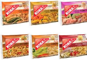 KOKA Oriental Instant Noodles | 10 x 85g | All Favours | Same Day Dispatch