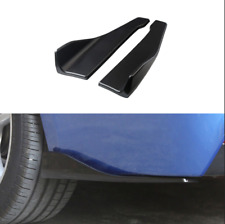 2 Pcs Fashion&Durable Modified Rear Lip &Side Skirt Diffuser Wings for Car Sedan