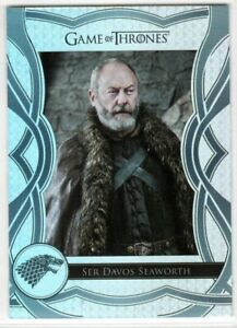 GAME OF THRONES THE COMPLETE SERIES THE CAST C45 INSERT SER DAVOS SEAWORTH