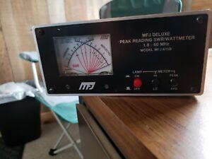 mfj deluxe wattmeter 815b