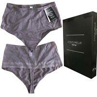 36 bis 46 sienna FELINA CONTURELLE Fashion 40 Damen Stringpant String Panty Gr