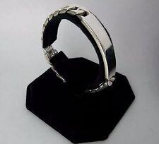 """Tiffany & Co. Sterling Silver 925 Chain Link ID Bracelet 7.50"""""""