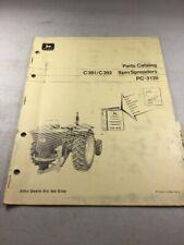 John Deere C381, C392 Spin Spreaders Parts Catalog