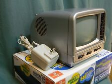 Spectra Vintage Portable TV with Digital Converter Box