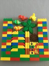 1 X LEGO DUPLO ANIMALI Dino UOVO GUSCIO BEIGE TAN sotto parte senza bordo scanalata irregolare