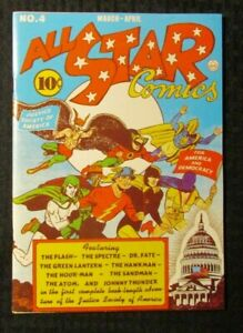 1974 FLASHBACK #6 FN+ 6.5 Reprint All Star Comics #4 Justice Society of America