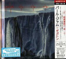 PEARL JAM-GIGATON-IMPORT CD+BOOK WITH JAPAN OBI Ltd/Ed G09