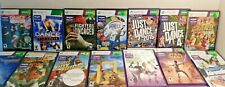 Kinect Games Xbox 360 Cleaned and Tested! Many CIB!